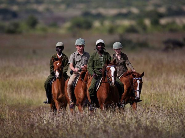 Loisaba Tented Camp Horse Riding