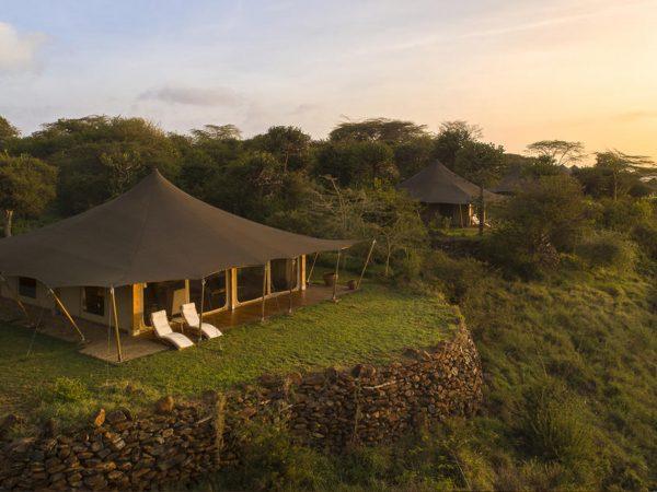 Loisaba Tented Camp Lobby