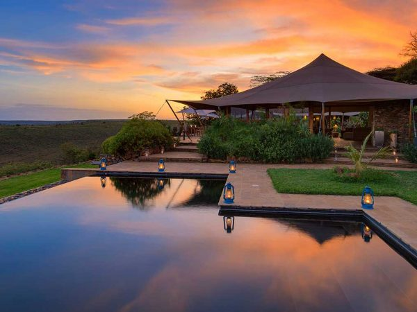 Loisaba Tented Camp Outdore Pool