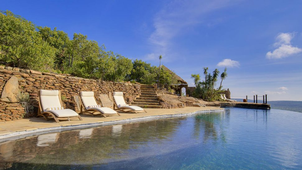Loisaba Tented Camp Pool