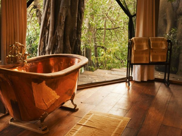 Mara Plains Camp Bathroom