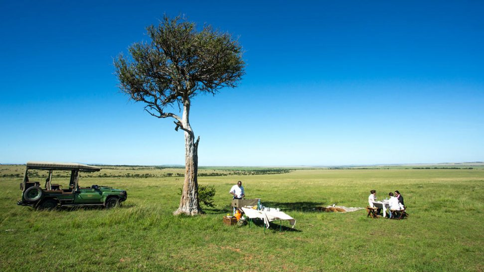 Mara Plains Camp Bush Breakfast