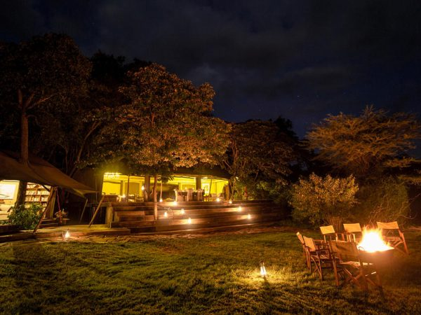 Mara Plains Camp Exterior View