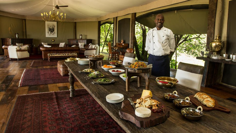 Mara Plains Camp Lunch
