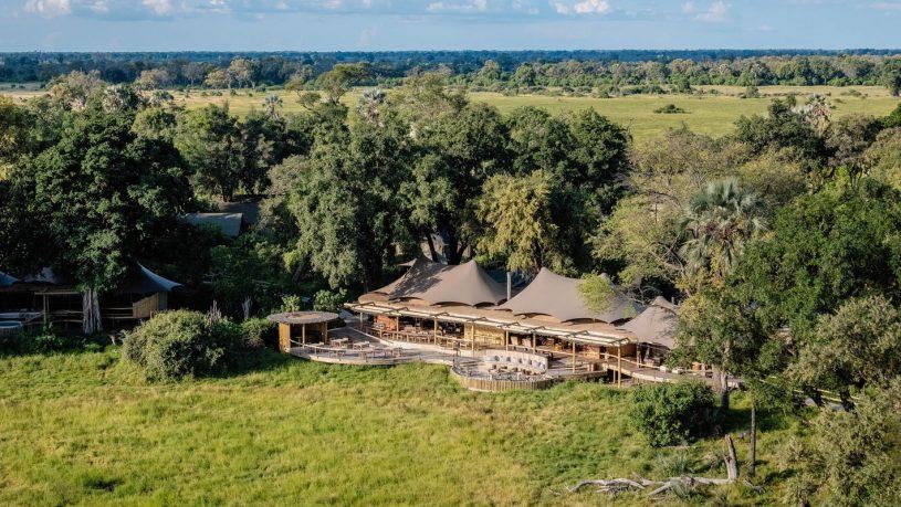 Mombo Camp Okavango Delta Botswana Exterior