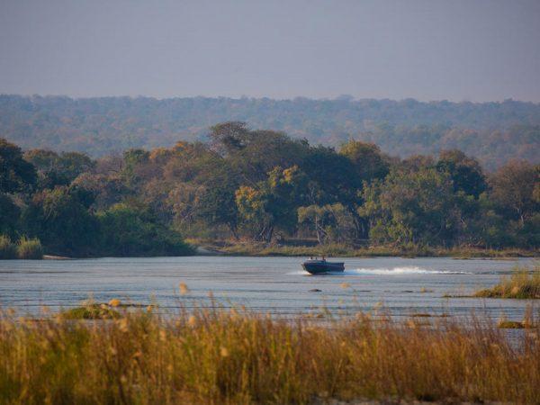 Mpala Jena Camp Boating on the Zambezi