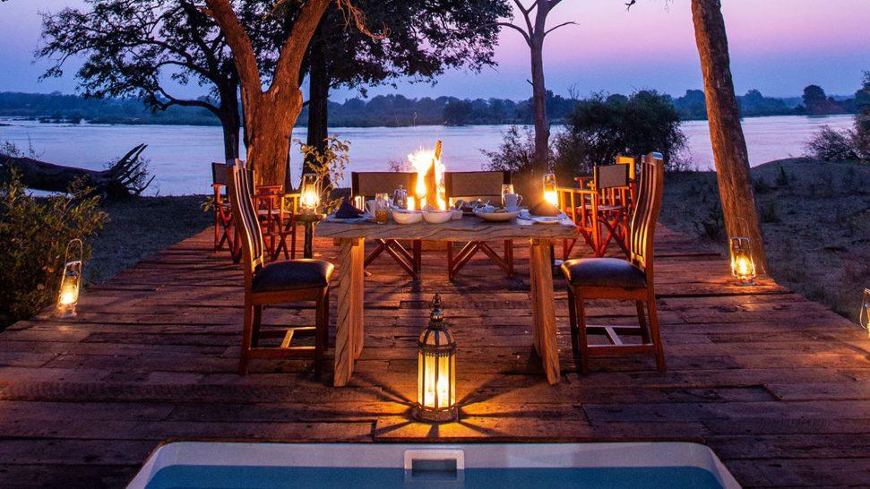 Mpala Jena Camp Dining