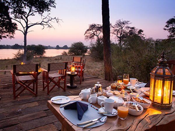 Mpala Jena Camp Dining Area