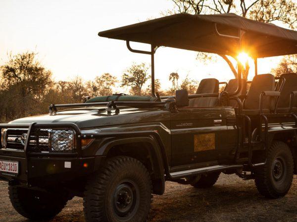 Mpala Jena Camp Drive Vehicle