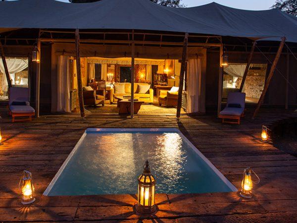 Mpala Jena Camp Pool Area