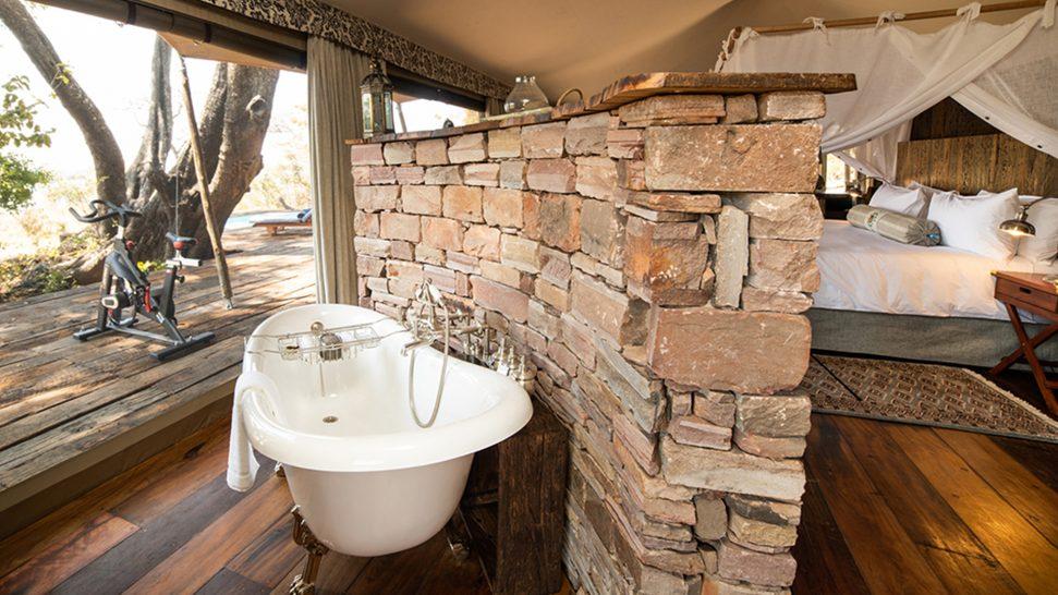 Mpala Jena Camp Room Bath