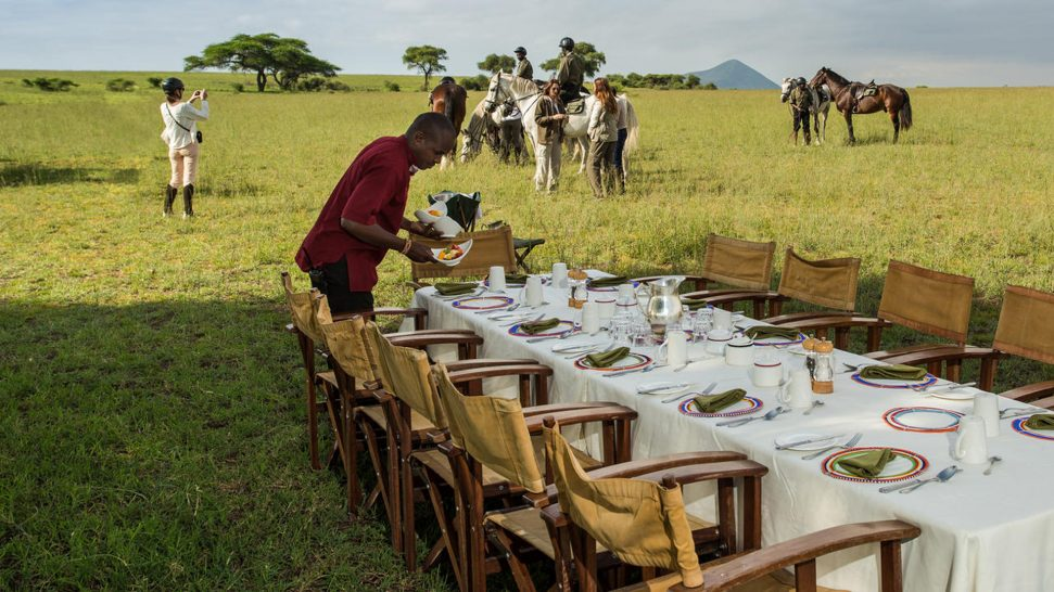 Ol Donyo Lodge Bush Breakfast