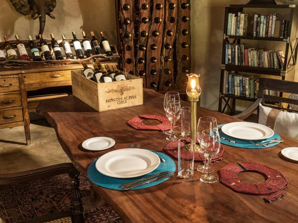 Ol Donyo Lodge Wine Cellar