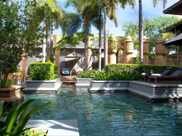 Park Hyatt Siem Reap Lobby Pool