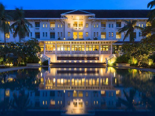 Raffles Grand Hotel d'Angkor Siem Reap Exterior