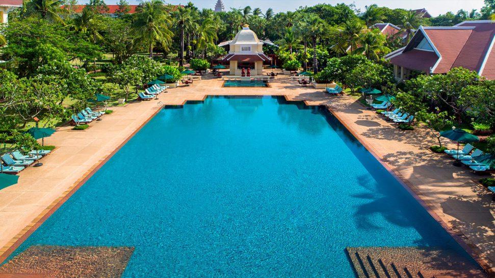 Raffles Grand Hotel d'Angkor Siem Reap Lobby Pool