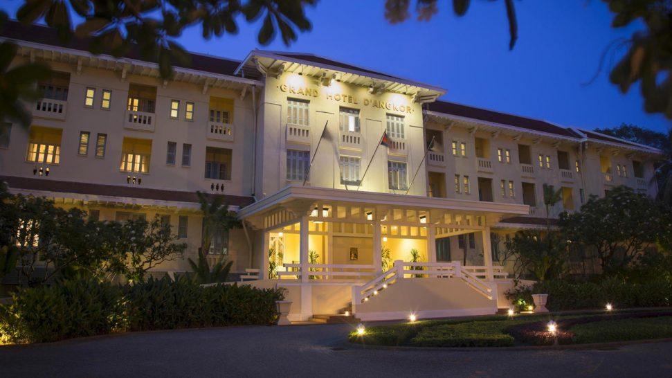 Raffles Grand Hotel d'Angkor Siem Reap Overview