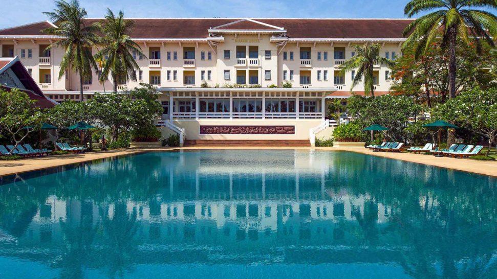 Raffles Grand Hotel d'Angkor Siem Reap Pool