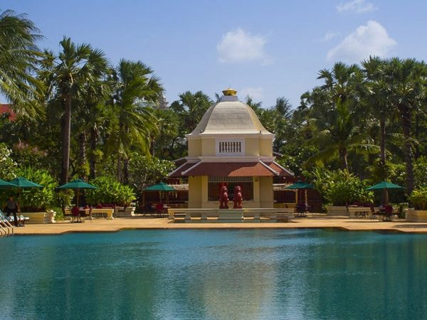 Raffles Grand Hotel d'Angkor Siem Reap Poolside Terrace