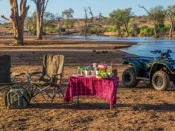 Sasaab Samburu Bush Breakfast Experience