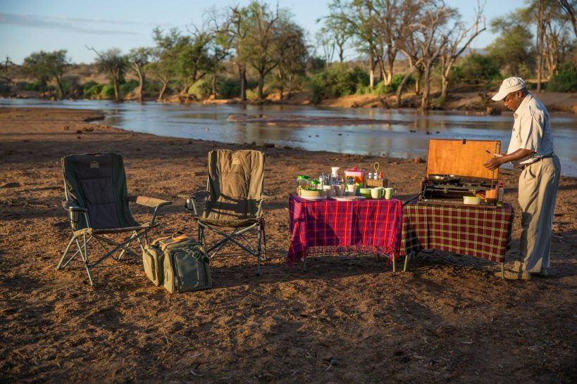 Sasaab Samburu Bush Dining