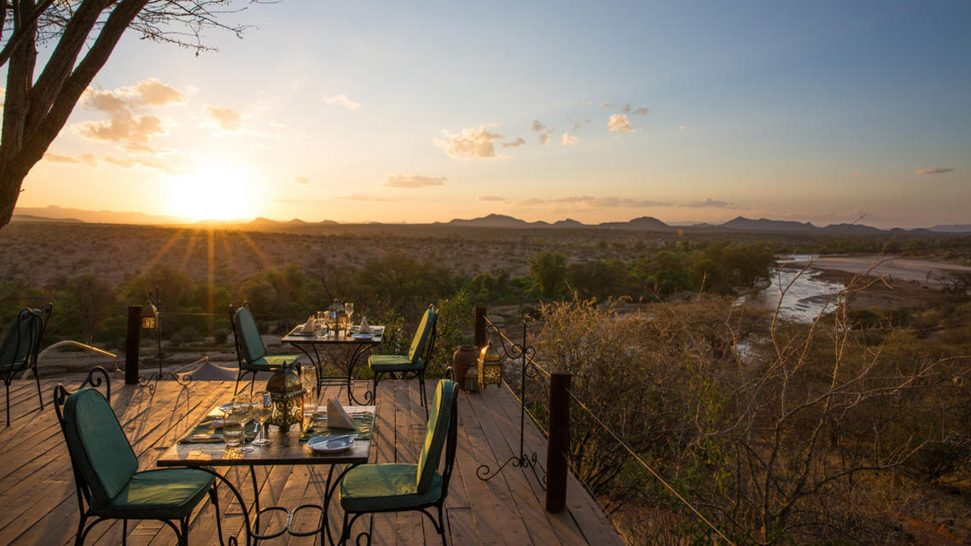 Sasaab Samburu Dining Options