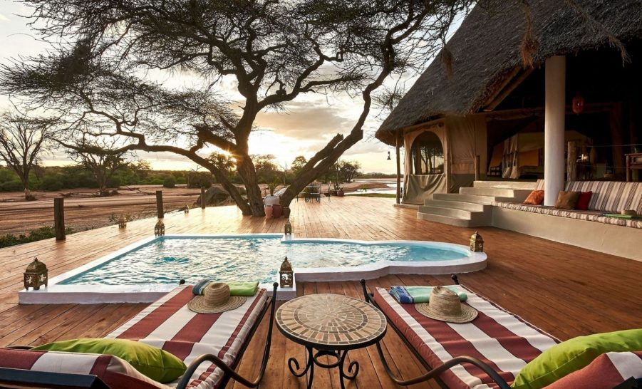 Sasaab Samburu Family Suite Pool