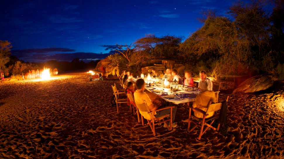 Sasaab Samburu Night Dining