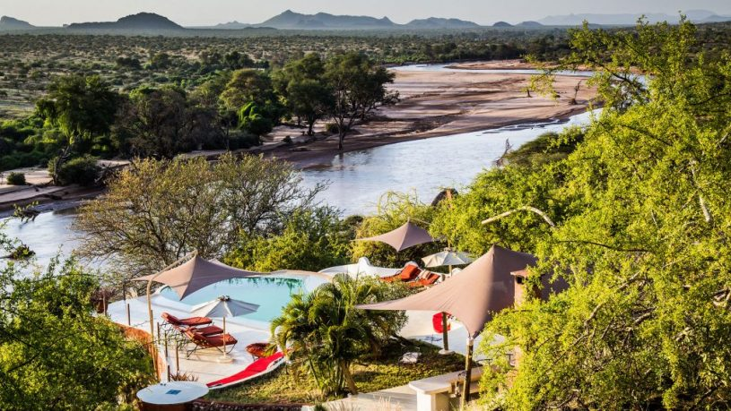 Sasaab Samburu Pool Panorama