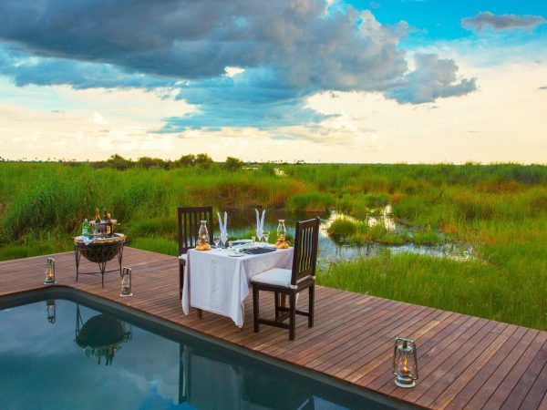 Selinda Camp Romantic Dinner