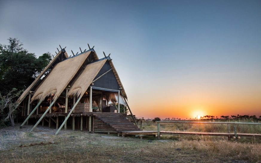 Selinda camp safari tent botswana