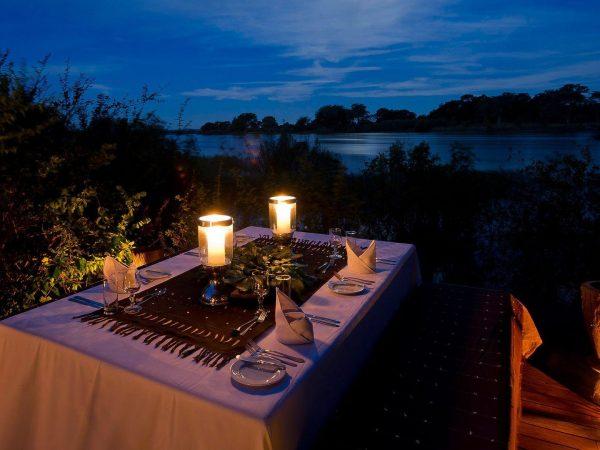 Sindabezi Island Chalet Dining