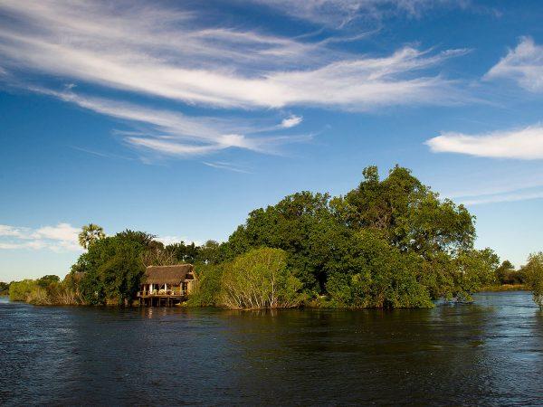 Sindabezi Island Honeymoon Chalet