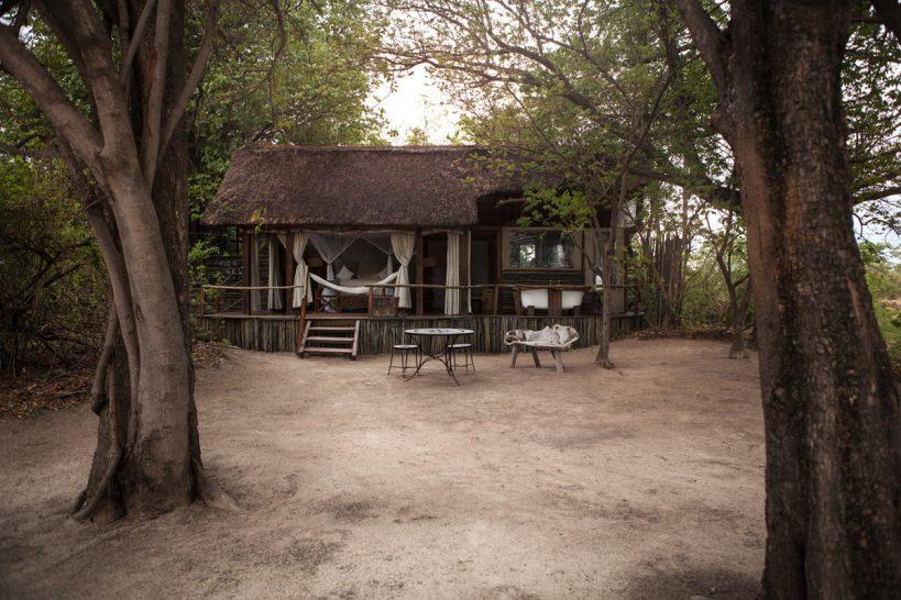 Sindabezi Island Honeymoon Chalet View