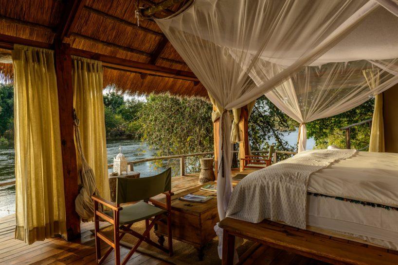 Sindabezi Island Lodge Chalet