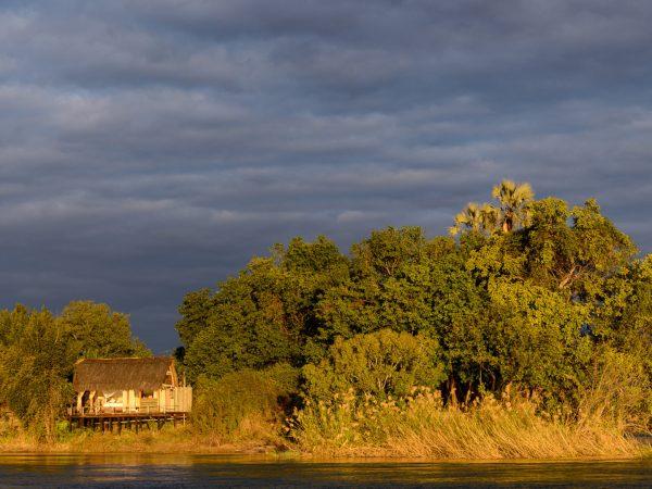 Sindabezi Island River View