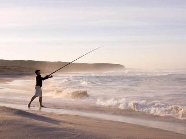 Southern Ocean Lodge Beach Fishing