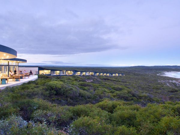 Southern Ocean Lodge Sunset