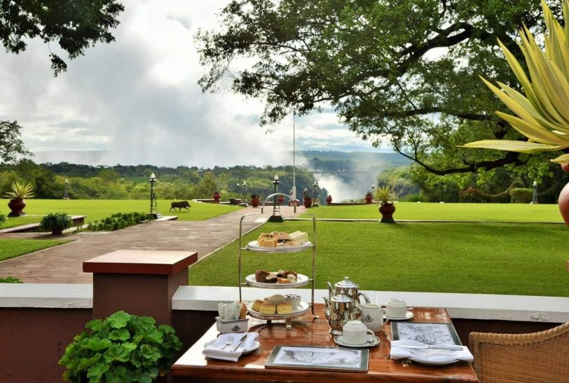 The Victoria Falls Hotel High Tea