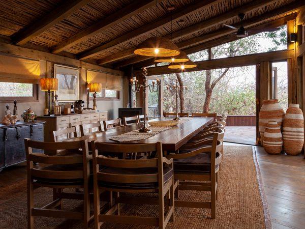 Tintswalo At Lapalala Wilderness Dining