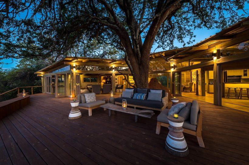 Tintswalo at Lapalala Starbed Lodge Deck