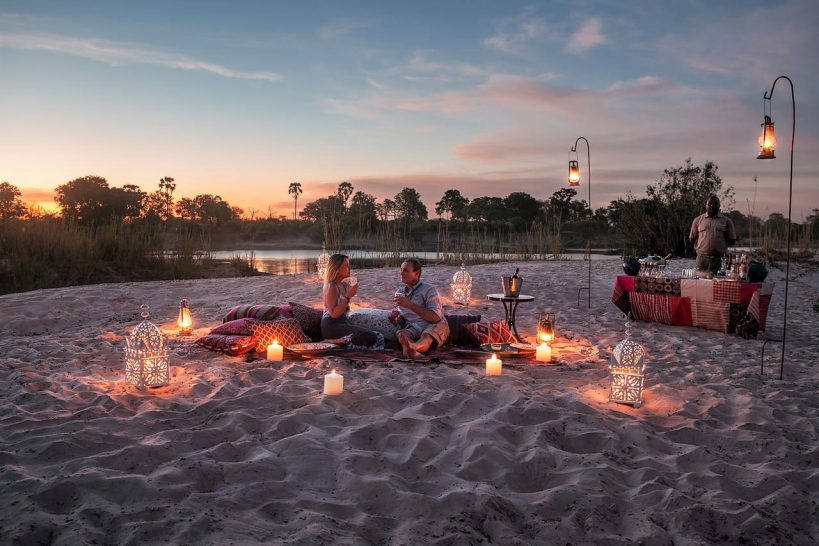 Tongabezi Lodge Private Sunset Sandbar Picnic