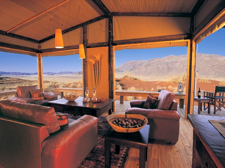 Wolwedans Dunes Lodge Namibia Chalet