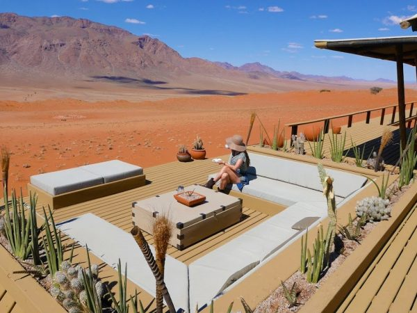 Wolwedans Dunes Lodge Namibia Deck