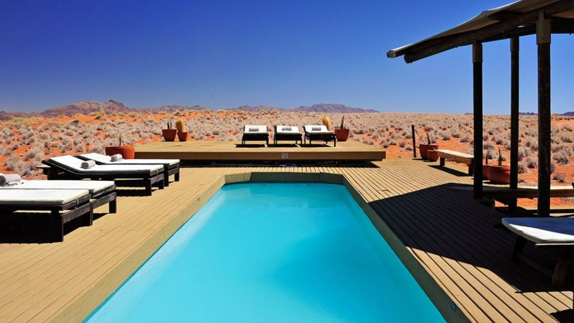 Wolwedans Dunes Lodge Namibia Pool