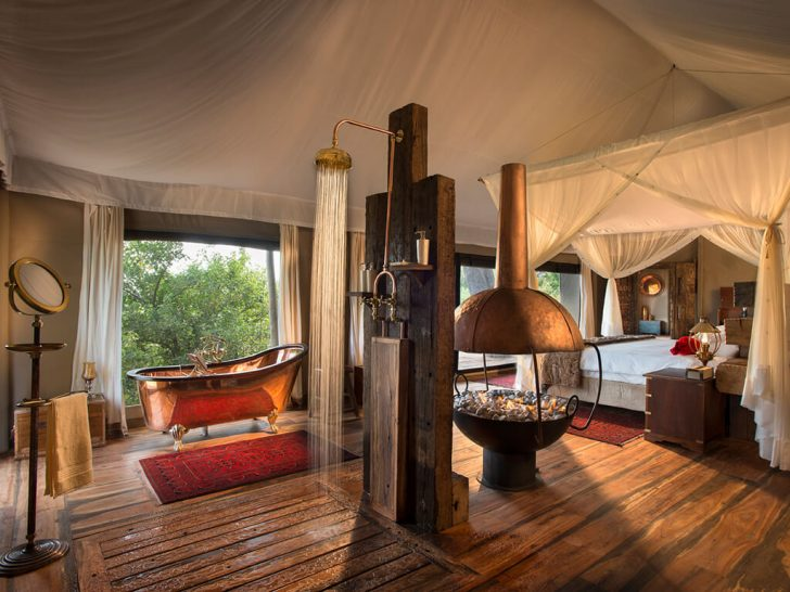 Zarafa Camp Dhow Suite
