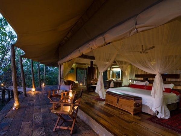 Zarafa Camp Luxury Tents
