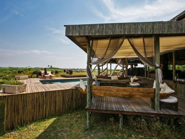 selinda camp facilities pool
