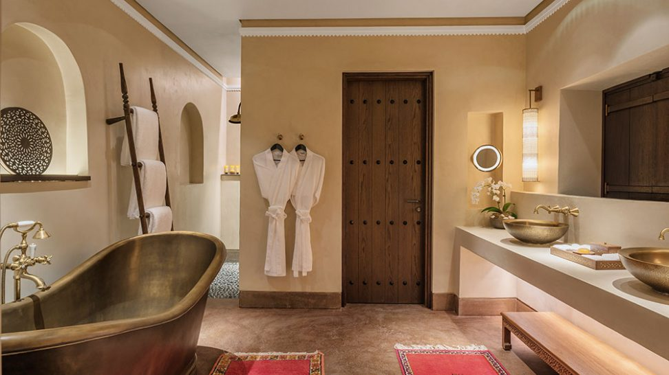 Al Bait Sharjah heritage suite bathroom