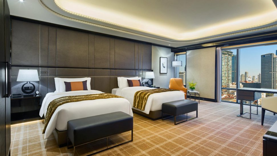 Bellagio Shanghai Deluxe River Twin Room
